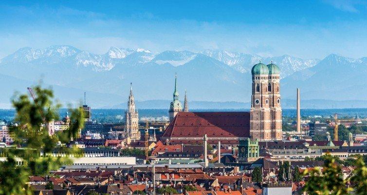 Shopping in München, Zwischenstopp München auf dem Weg in den Süden/Ein Citytrip München Winter mit tollem Ausblick/ Eine Städtetour München - mit Genuss auf den Dächern