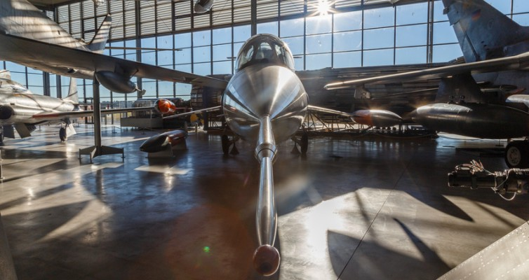 Starfighter Flugwerft Deutsches Museum München