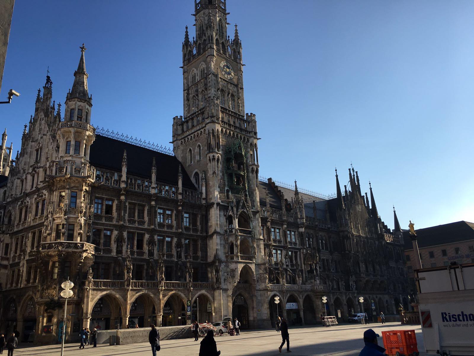 Kurztrip nach München, Visit Munich and enjoy Marienplatz
